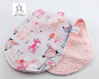 Shoulder towel - childish puppies
