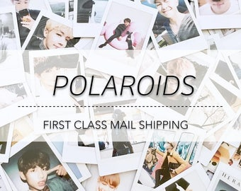POLAROIDS | 방탄소년단 BTS Instax Polaroid Kpop Photo Card [lower shipping costs!]