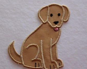 Labrador Patch, Labrador Retriever, Dog Patch, Dog Applique, Labrador Applique, Embroidered Dog, Embroidered Labrador, Lab Patch, Cute Dog