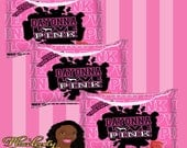 Love Pink Sour Patch Kids Candy Label Love Pink Party Victoria Secret Digital or Printed and Shipped