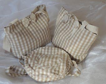 set of three bag