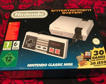 Playable Nintendo Classic Mini Reproduction USA FAST & FREE Priority Shipping Play Super Mario Zelda 30+ Games