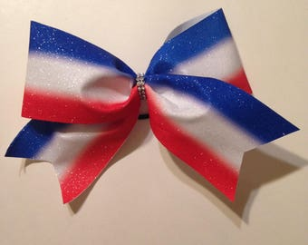 Uncle Sam Hair Bow