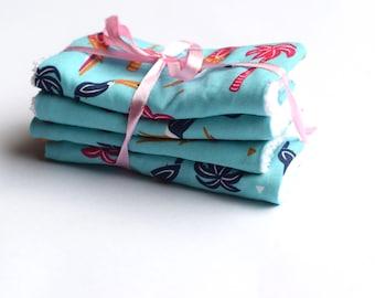Lingettes Lavables Coton / Washable wipes cotton / Coton démaquillant/ Démaquillant Zero Déchet