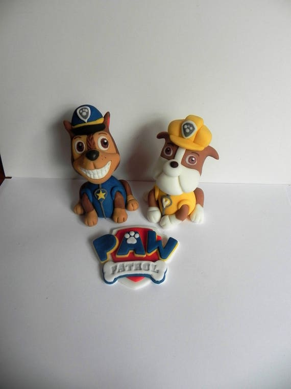 Chasw And Marshall Cake Toppers