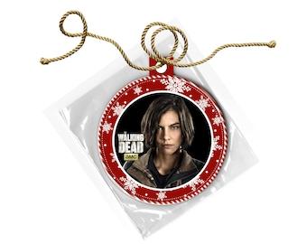 The Walking Dead Maggie Greene Rhee Lauren Cohen Christmas Ornament