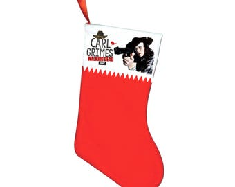 The Walking Dead Carl Grimes Chandler Riggs Christmas stocking