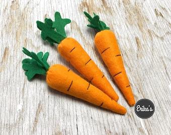 Carrot Cat Toy with organic catnip