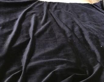 Fabric very soft as the jersey velvet 140 cm width