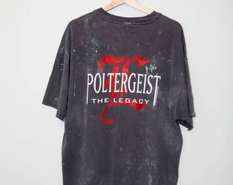 Vintage 1997 Poltergiest 2 Splatter Shirt | Size XL