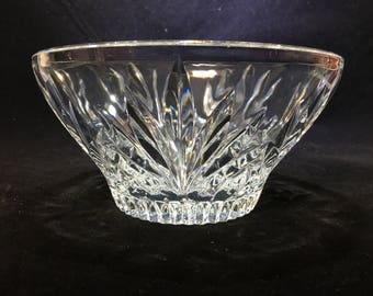 "Wedgwood ""Majesty"" Pattern 6' Crystal Bowl"