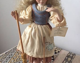 Limited edition Cinderella At Work Doll, created by Dianna Effner