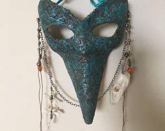 Brass filament Plauge doctor mask