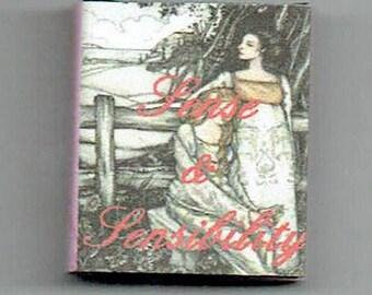 Dollshouse Miniature Book - Sense and Sensibility