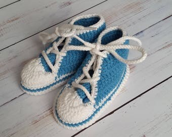 Crochet baby bootees Babys bootees  Baby shoes