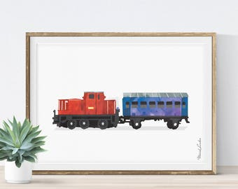 Train Wall Art train wall art | etsy