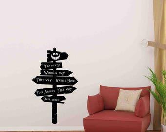 Cheshire Cat Decal Etsy - Custom vinyl wall decals cats