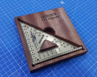 Mirock Square Metric Brass 120mm