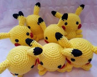 Pikachu Crochet Plushie