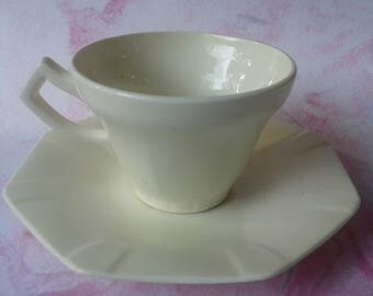 Cup, saucer, Society Ceramique Maestricht, Made in Holland