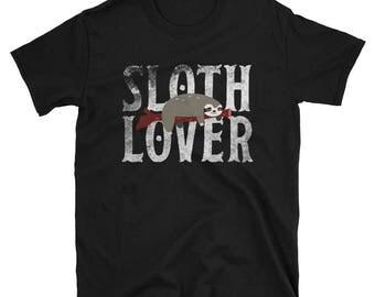Sloth Lover Short-Sleeve Unisex T-Shirt Spirit Animal