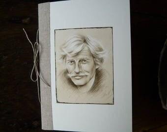 Jean Ferrat book reproduction portrait of Jean Ferrat
