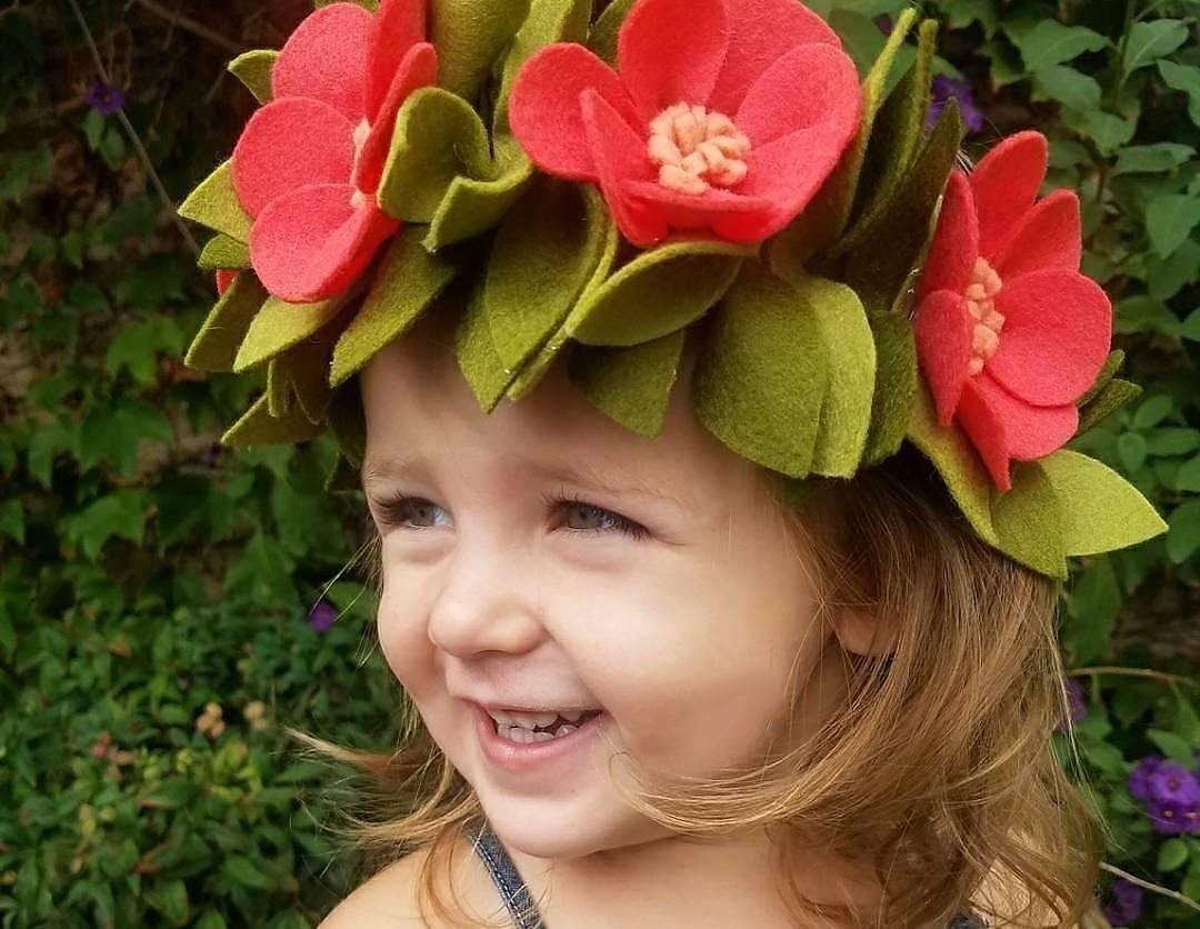 Moana Crownmoana Headbandhalloweenhawaiianhawaiian Crownfloral