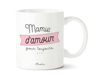 Grandma mug of love forever. Grandma, grandmothers day gift
