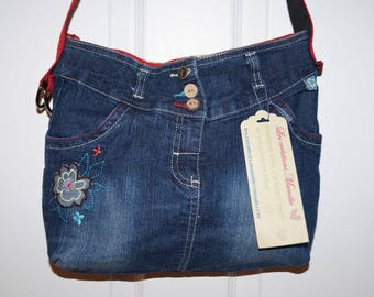 Small bag in denim (Jeans purse)