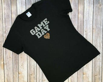 Game Day - Basketball - Bling Shirt