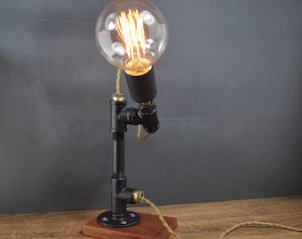 VECTOR pipe lamp black