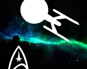Small Star Trek Decals