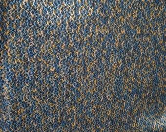 Hand Crochet blue's afghan  hand crochet Blue's throw Multi color hand crochet afghan large hand crochet afghan
