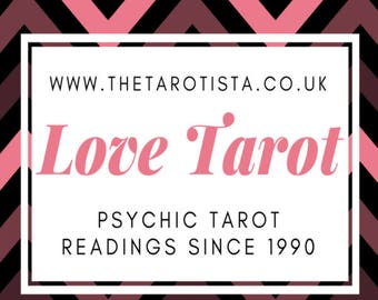 Mini Love Feelings & Potential Tarot Reading by Email by Psychic Reader of 30 Years experience
