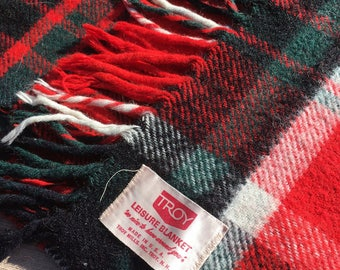 Troy Mills wool leisure blanket Pendleton Blanket Wool Throw