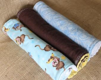 Baby Burp Cloths, Baby burp rag set, Flannel burp cloth, flannel burp rag, feeding cloth, burp rag, burp cloth, baby gift set, baby shower