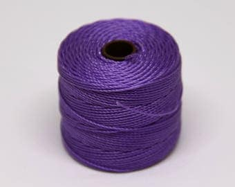 Violet S-Lon Nylon Cording - STR 073