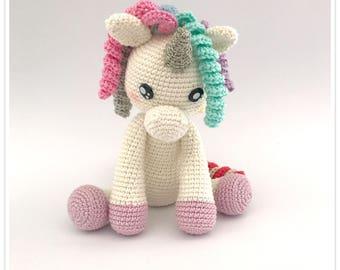 Kawaii Unicorn crochet