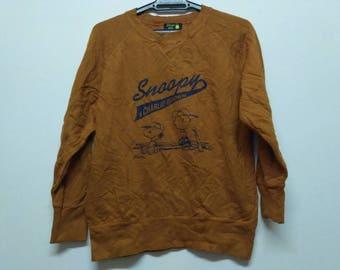 Sale % Vintage Snoopy Charlie Brown Sweatshirt