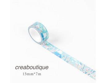 Masking Tape SAKURA/PAPER Tape/Deco Tape/washi tape/1 roll masking tape (washi) illustrations SAKURA, 15 mm * 7 m