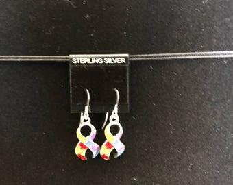 Autism Awareness Dangle Earrings