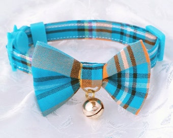Cute bow tie cat collars