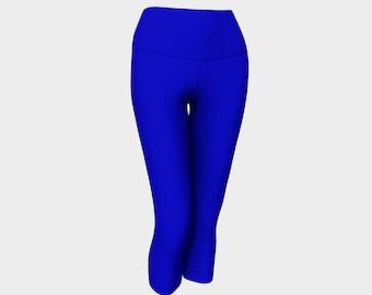 Bold Blue Capris