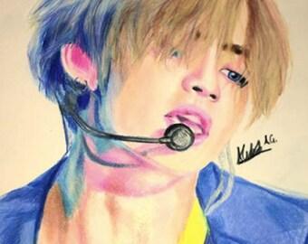 Custom Kpop Drawing