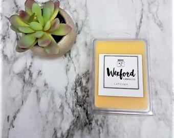 Wax Melt - Satsuma - Wax Tart - Wax Melts - Melts - Wax Tarts - Wax Melter - Gifts For Her - Mom Gift - Housewarming Gift