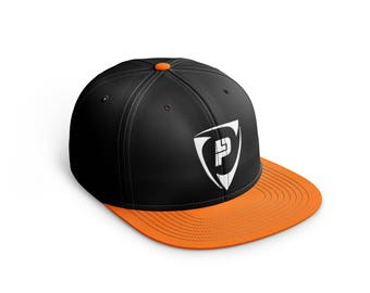 LP Black Orange Snapback