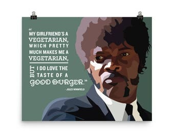 Jules Winnfield - Vegetarian