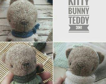 FLUFFIES crochet pattern