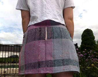Loom woven Skirt ONE OF a KIND
