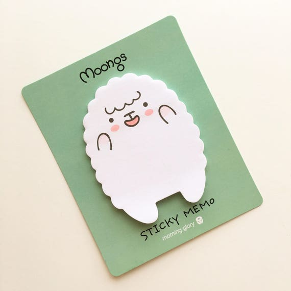 Cute lamb sticky notes
